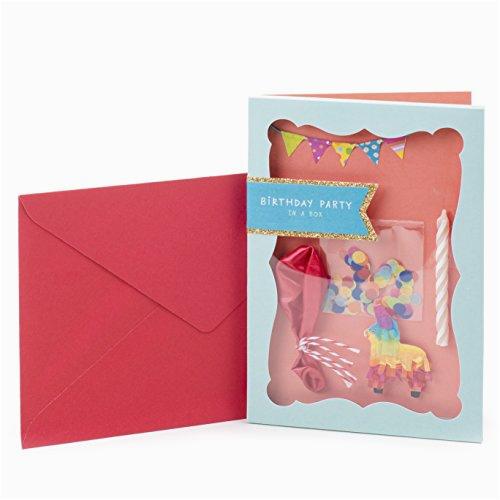 hallmark signature birthday greeting card party in a box