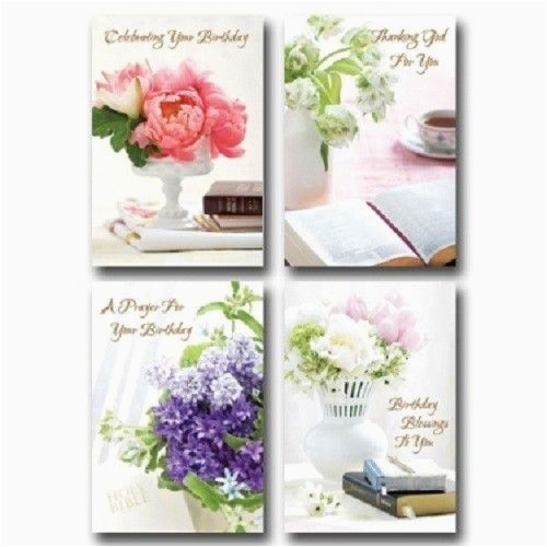 christian boxed birthday cards lustrous bibles bouquets