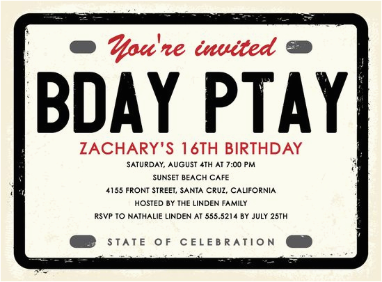 Boy 16th Birthday Invitation Ideas 27 Best 39 S Images On Pinterest