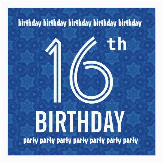 Boy 16th Birthday Invitation Ideas Orderecigsjuice Info
