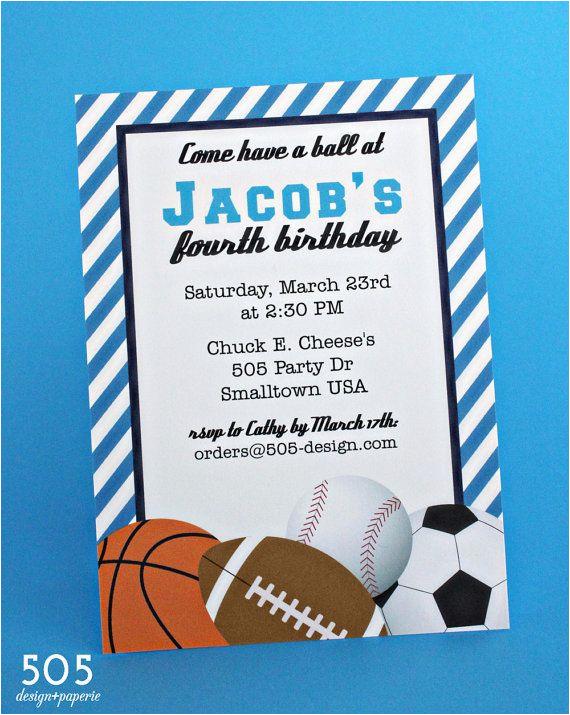 post boys sport birthday invitations free printable 89533