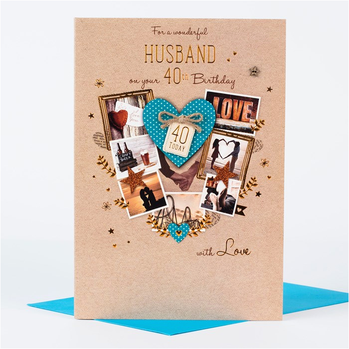 40th birthday card husband love only 1 29