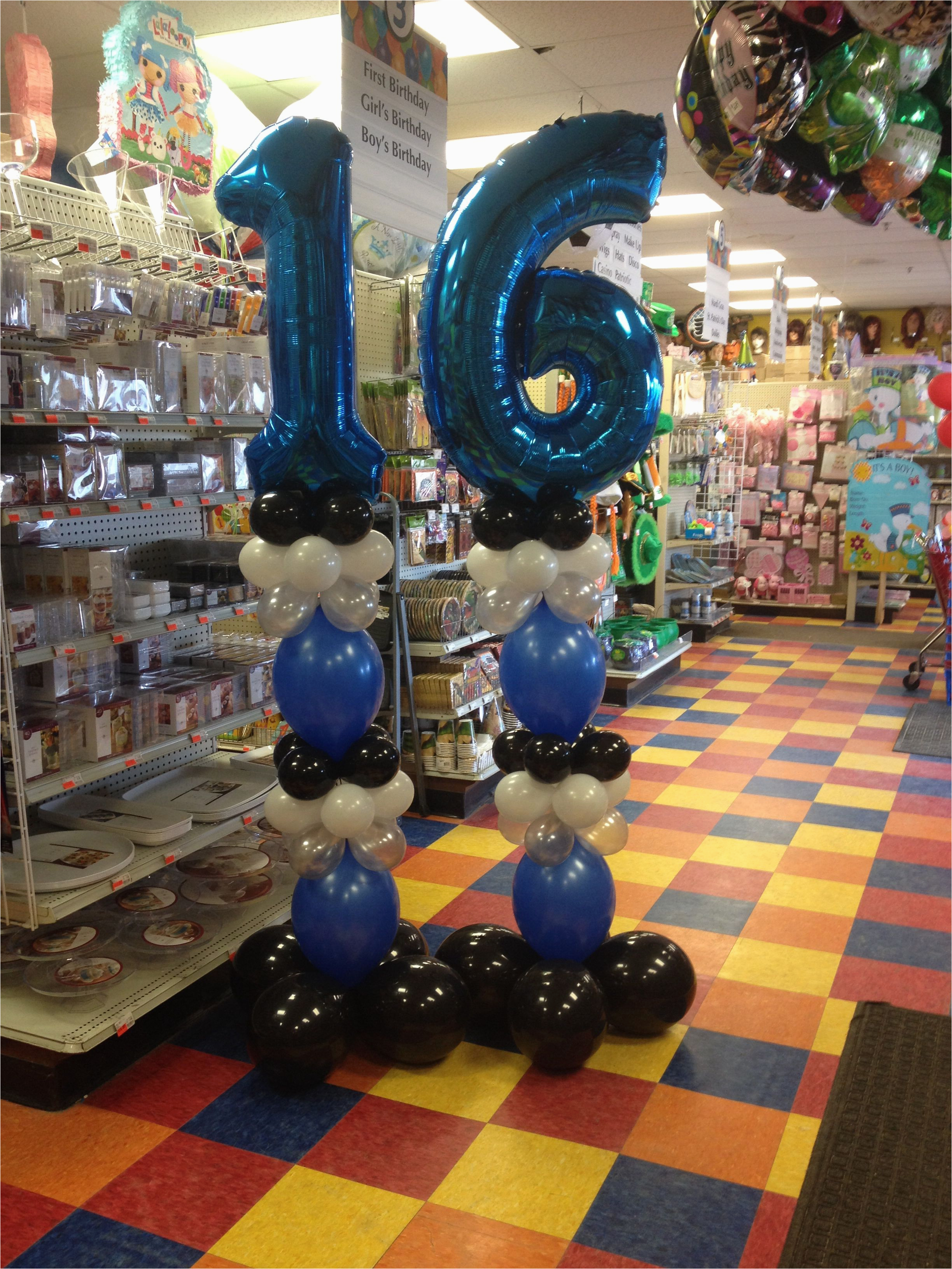 Boys 16th Birthday Party Decorations For A Boy Fair Willow Grove Pa