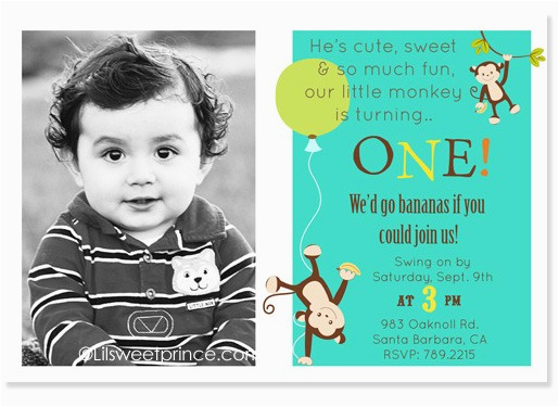 1st birthday invitations for boys