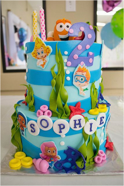 bubble guppies birthday cake ideas