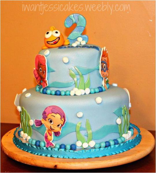 12854 bubble guppies cake