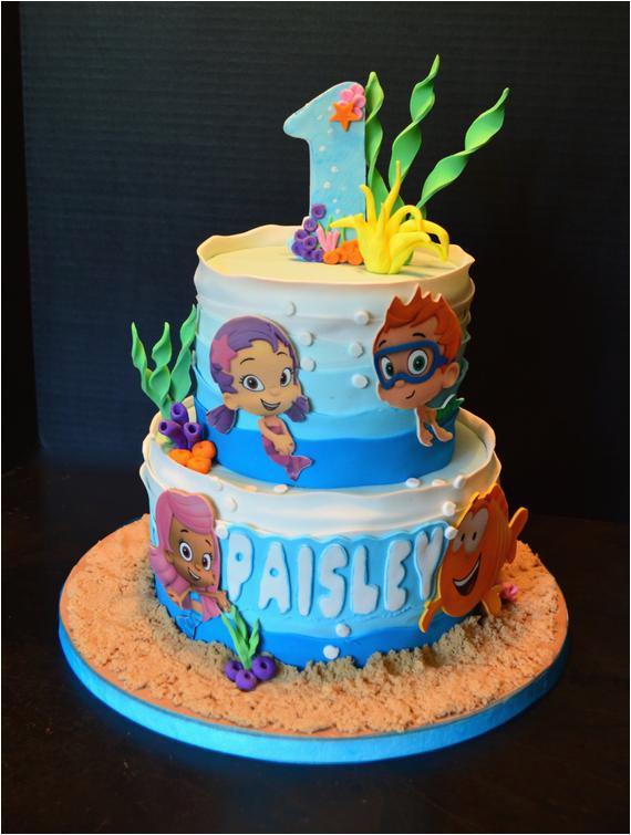 bubble guppies cake decorating kit