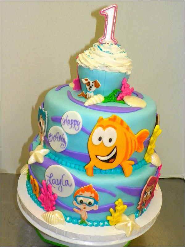 Bubble Guppies Birthday Cake Decorations