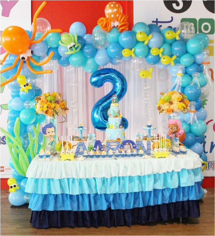 Bubble Guppies Birthday Decoration Ideas Best 25 Party On Pinterest