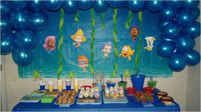 bubble guppies room decor party