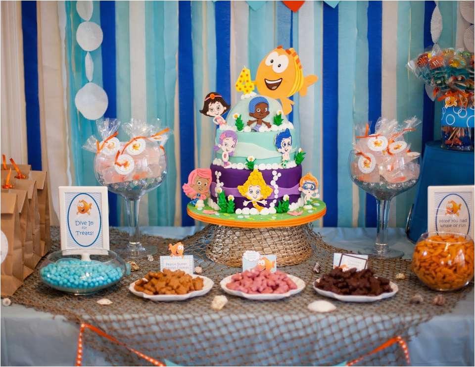 bubble guppies 4th birthday