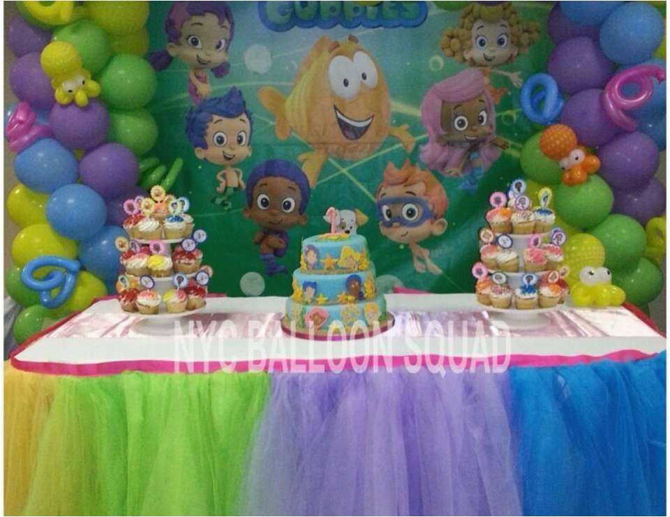 Bubble Guppy Birthday Decorations Birthdaybuzz
