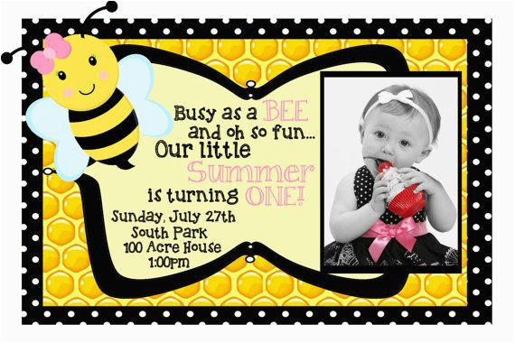 25 best ideas about bumble bee invitations on pinterest