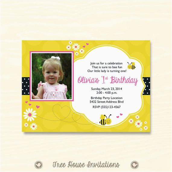 baby 39 s first birthday bumble bee theme by