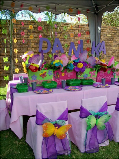 Butterfly Birthday Theme Decorations Party Ideas Themes