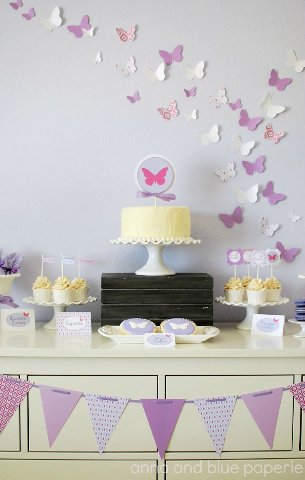 new to shop butterfly party collection