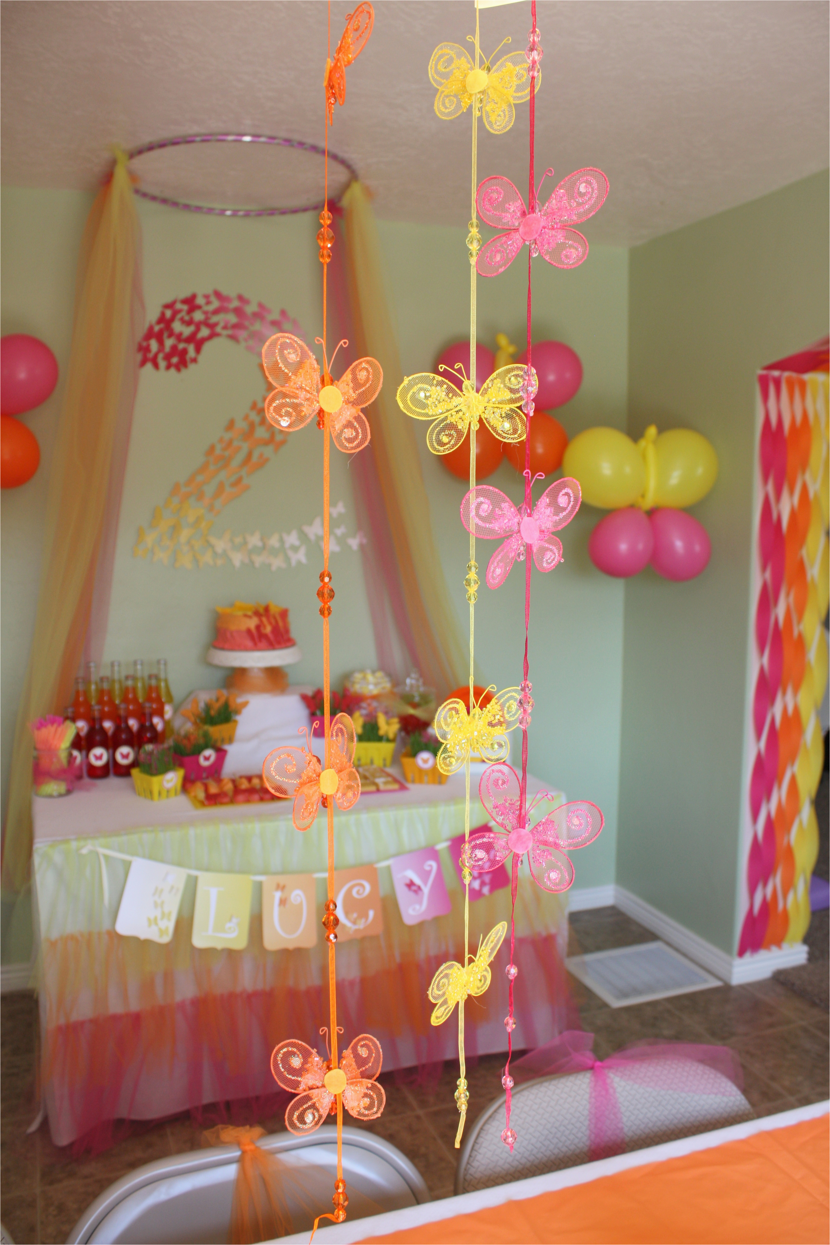 Butterfly themed Birthday Party Decorations butterfly themed Birthday Party Decorations events to