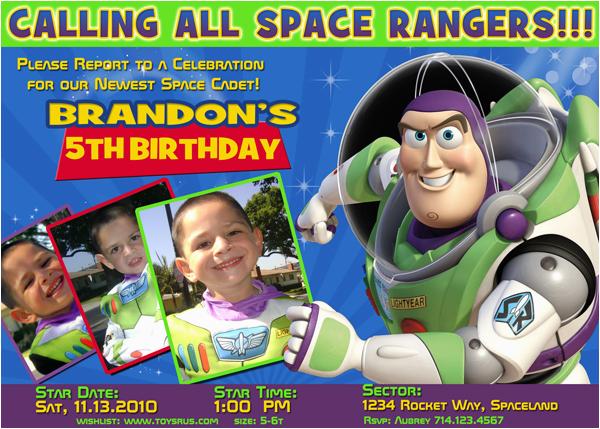 Buzz Lightyear Birthday Invitations Buzz Lightyear Birthday Invitations Ideas Bagvania Free