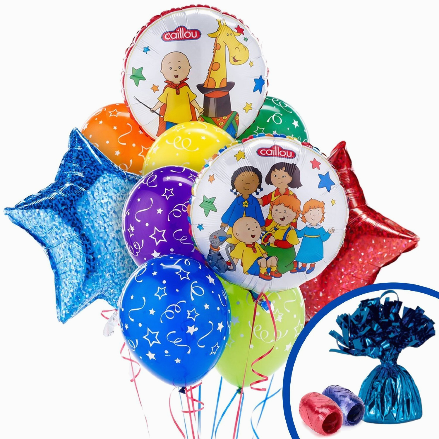 how to have caillou birthday party