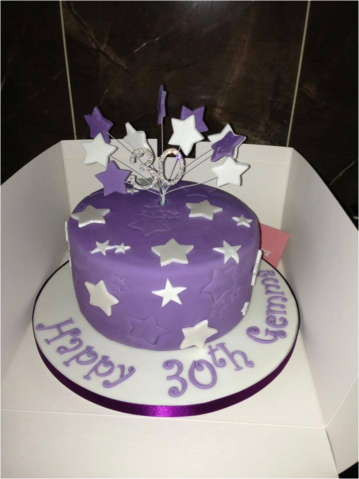 Cake Decorating Ideas for 30th Birthday 30th Birthday Cakes Inspirations for the Fabulous You