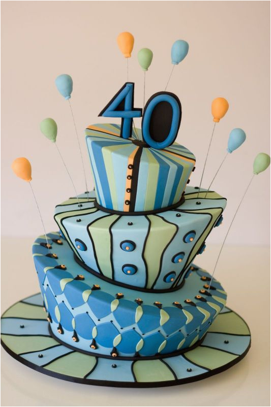 Cake Decorations for 40th Birthday Birthday Cakes Walah Walah