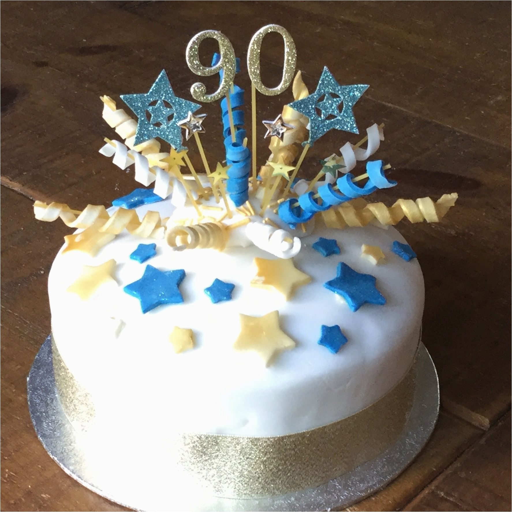 Cake Decorations For 90th Birthday Mom 39 S Pinterest