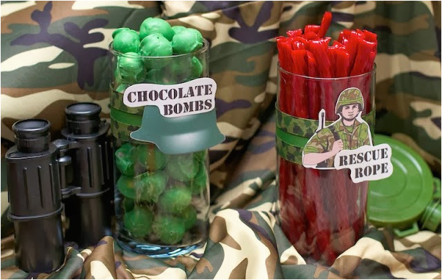call of duty theme activities and