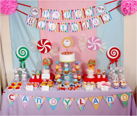 candy land birthday party