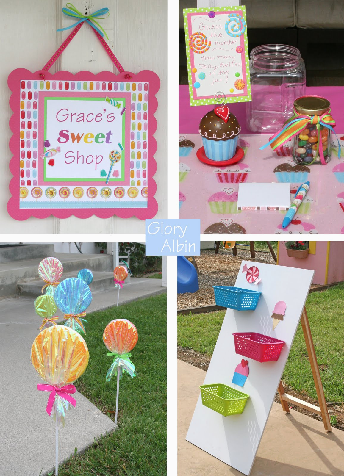 inspiration candy land party