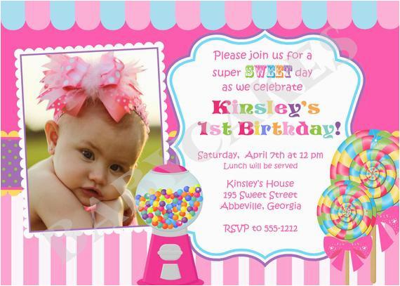 sweet shoppe birthday invitation candyland birthday diy