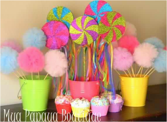 homemade candyland party decorations 17 best images about seven is so sweet birthday party ideas on