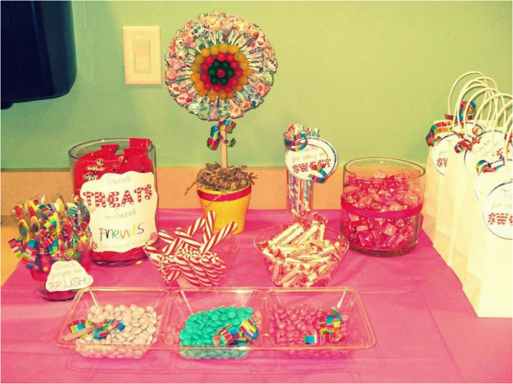 Candyland Birthday Party Ideas Decorations Homemade Diy Sweet Candy Da