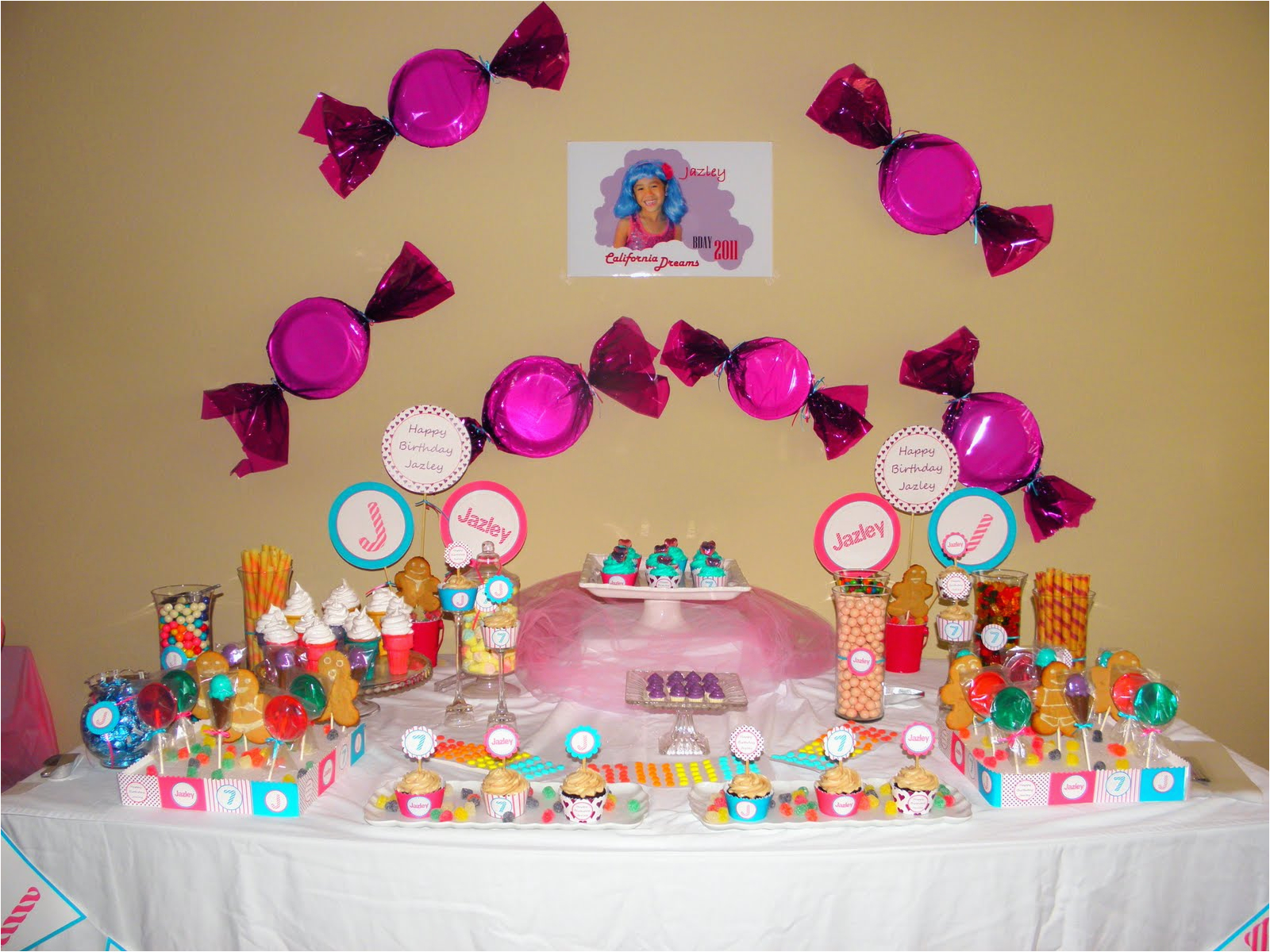 katy perry inspired candyland birthday