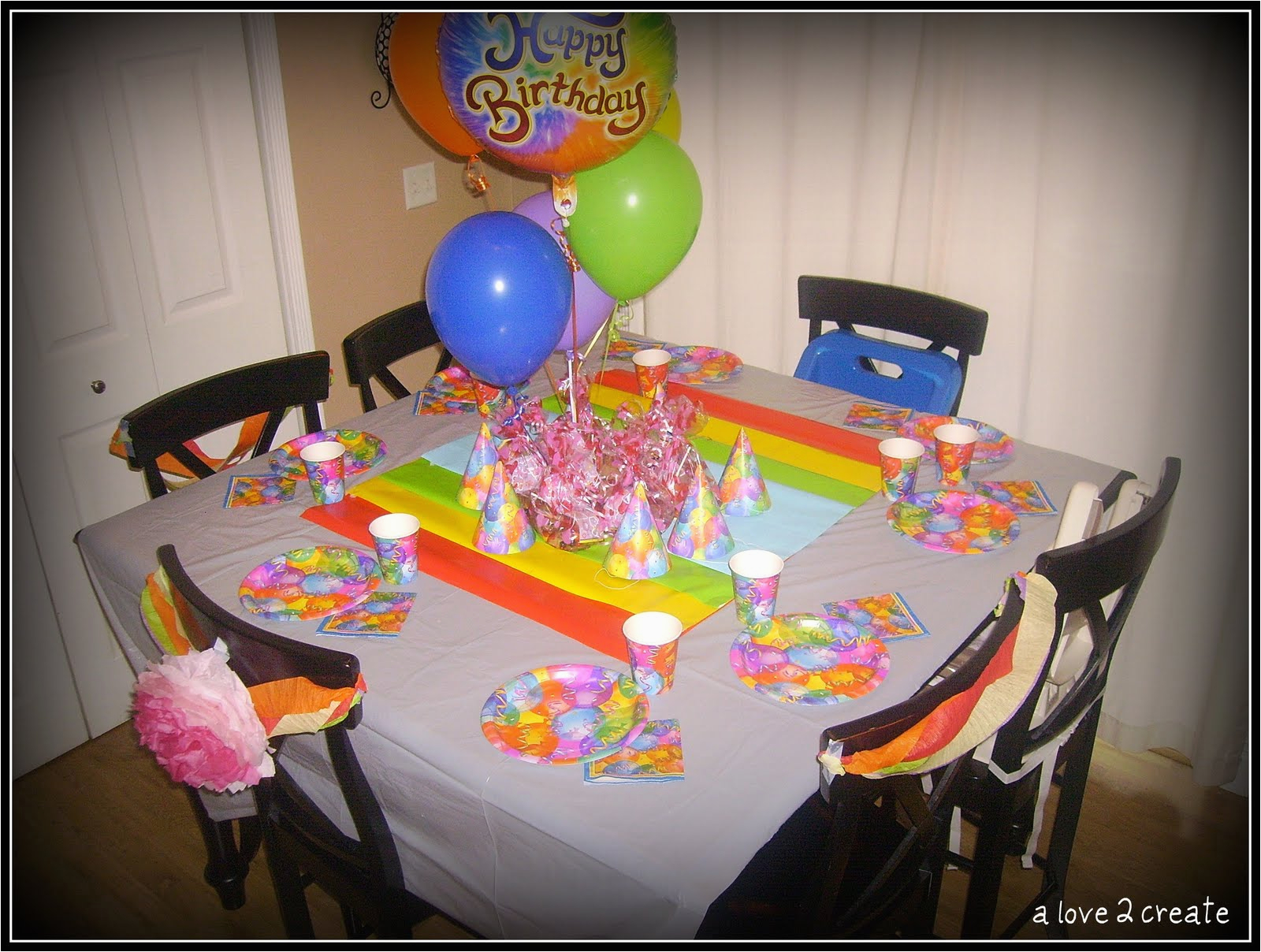 Care Bear Birthday Decorations A Love To Create