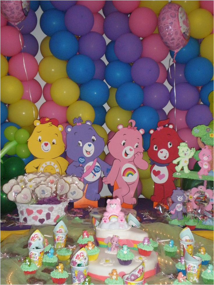 care bears party decorations ideas