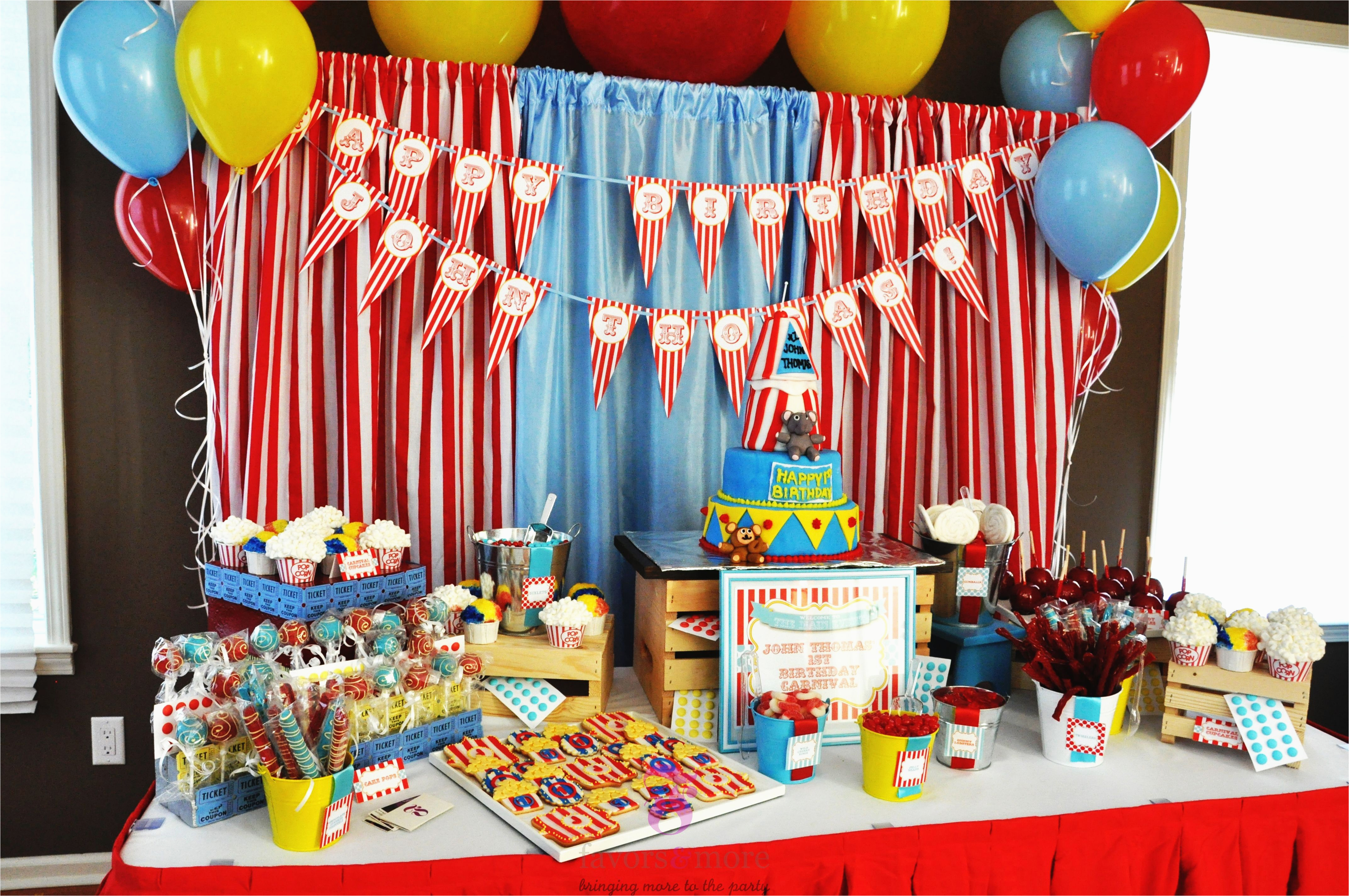 Carnival Decorations for Birthday Party 15 Best Carnival Birthday Party Ideas Birthday Inspire