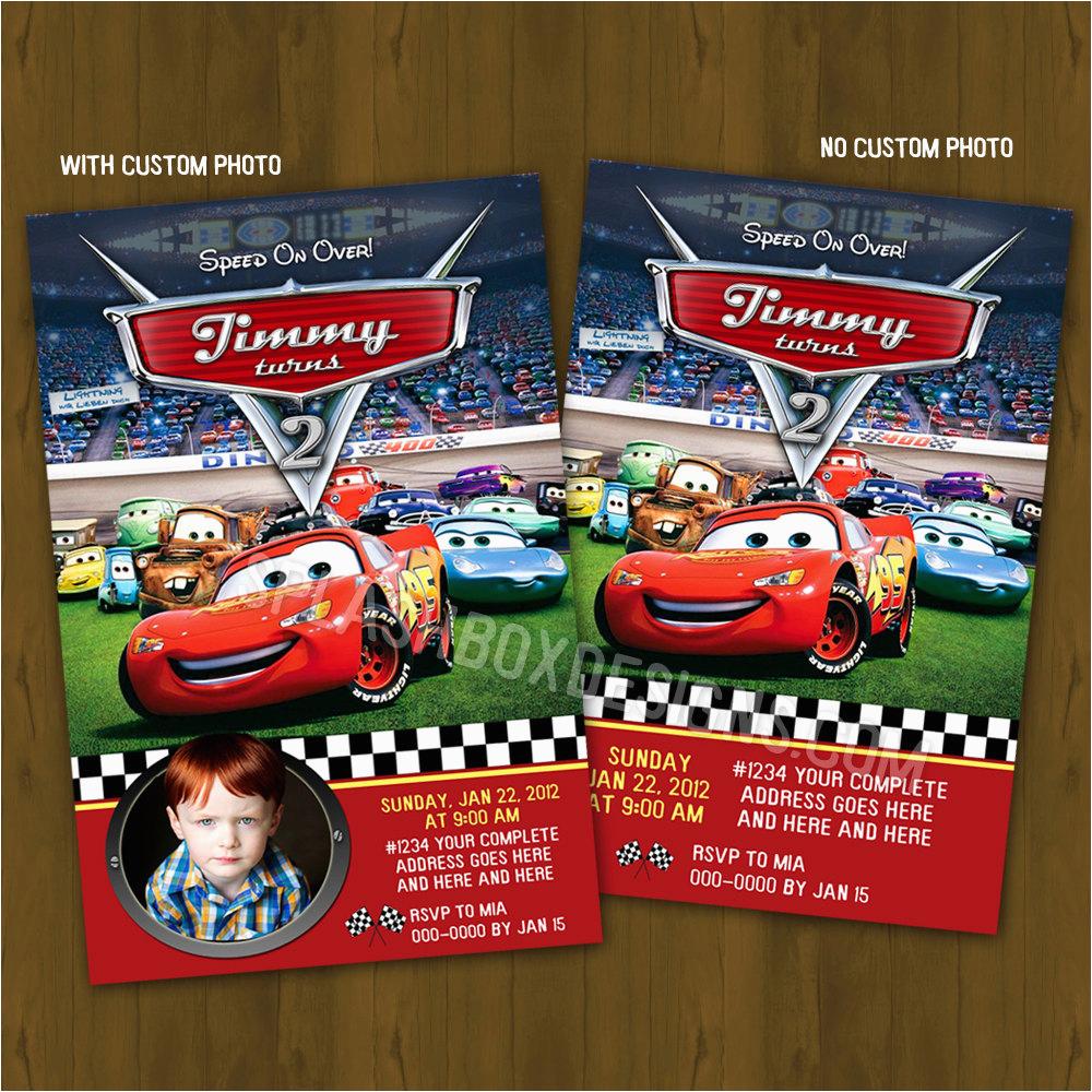 invite disney cars cliparts