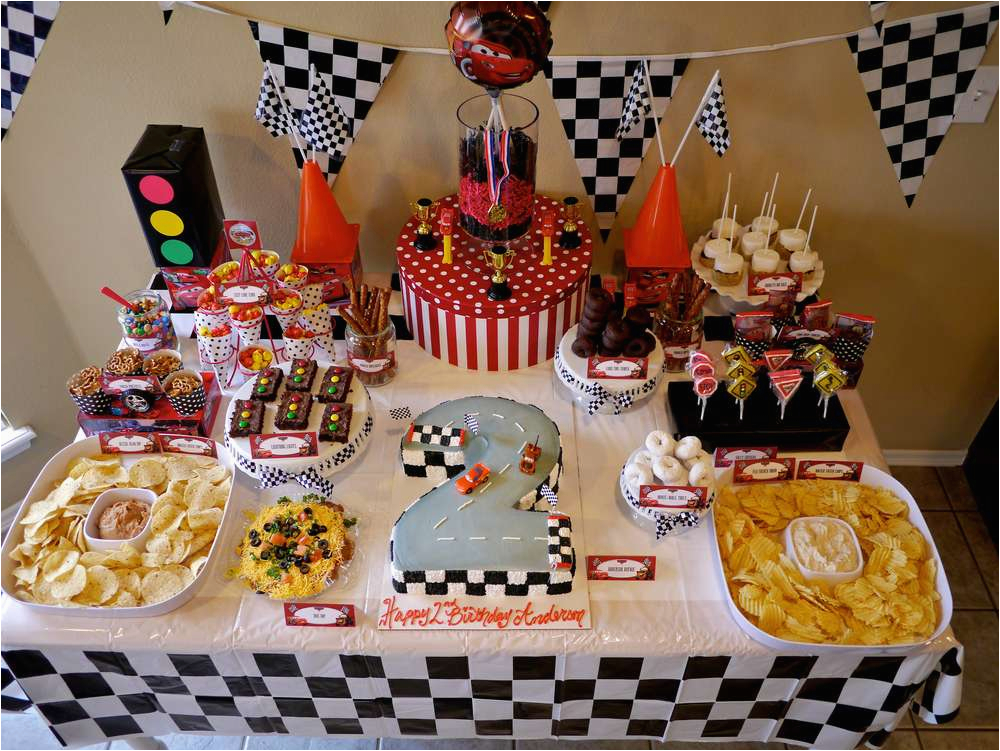 Cars 2 Decorations For Birthday Parties Disney Party Ideas Photo 1 Of 80 Catch
