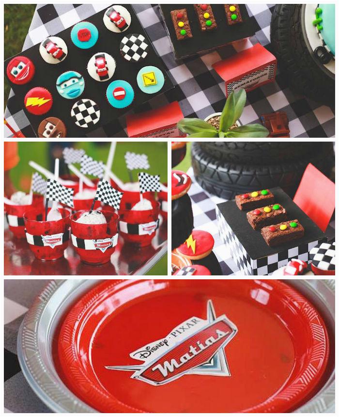 Cars 2 Decorations For Birthday Parties Kara 39 S Party Ideas Disney Via