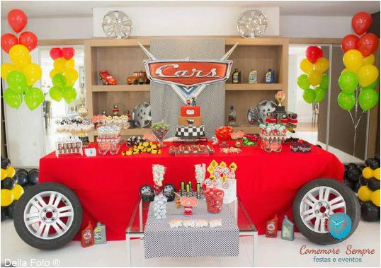 cars themed birthday party ideas