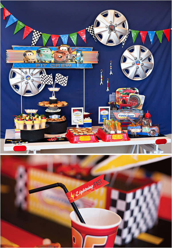 Cars Decorations For Birthday Diy Disney Party