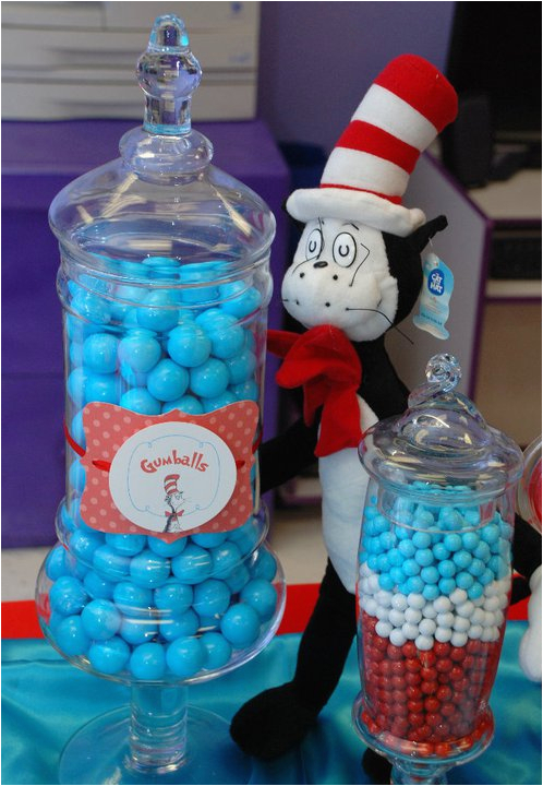 Cat In the Hat Decorations for Birthday Cat In the Hat Birthday Party Ideas Dre 39 Lon 39 S 1st