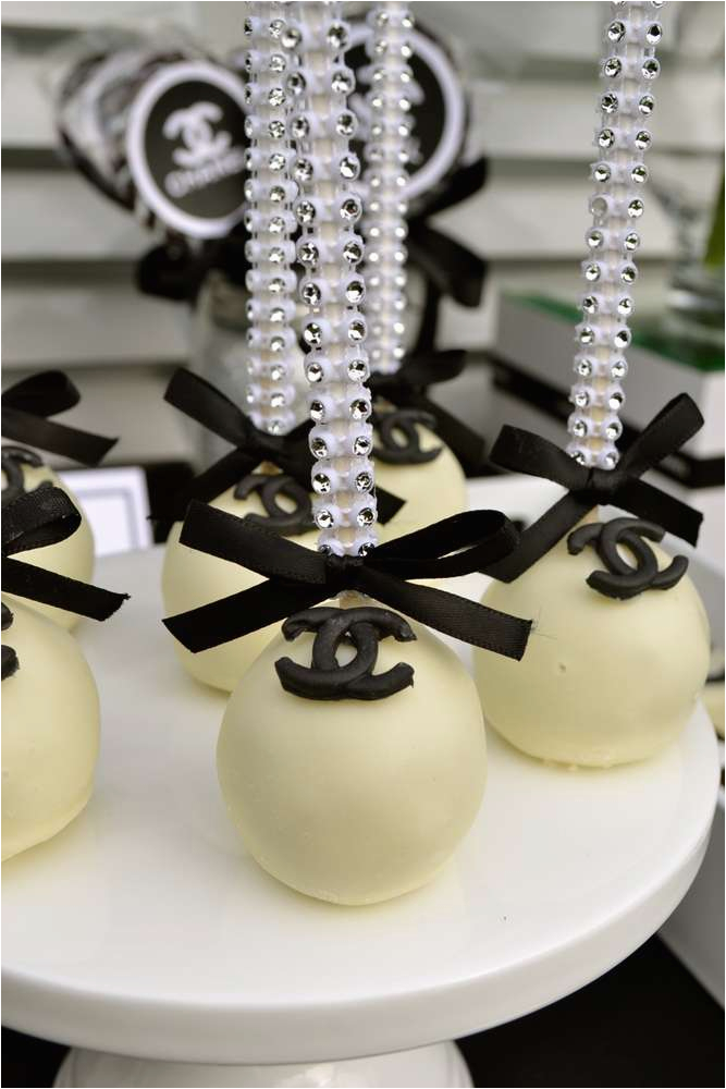 Chanel Birthday Decorations 40th Party Theme Ideas