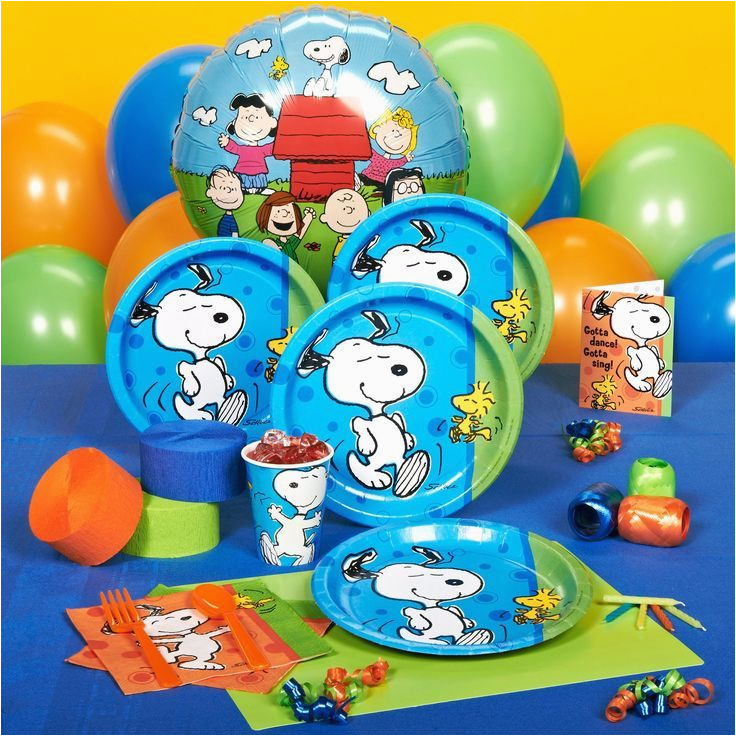 charlie brown snoopy party ideas