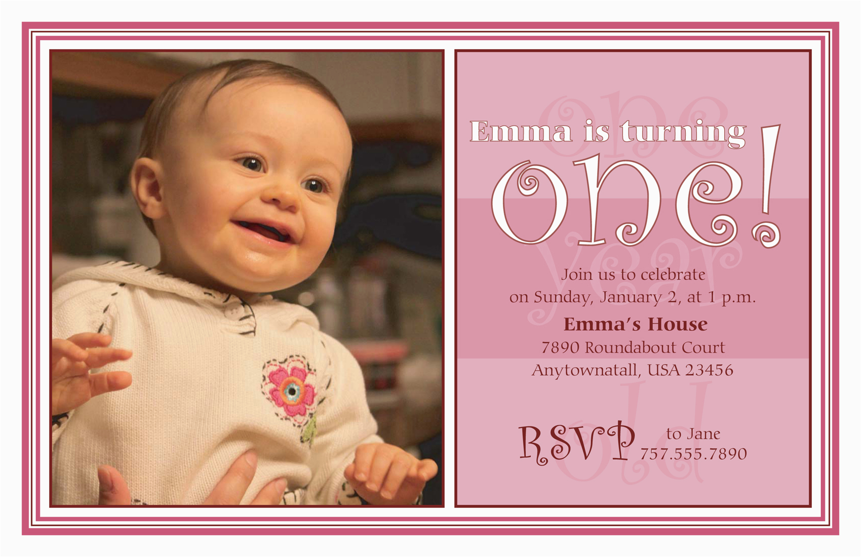 Cheap 1st Birthday Invitations Party Invitations First Birthday Party Invitations Cute