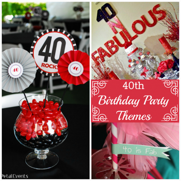 party decorations ideas for 40th birthday inexpensive
