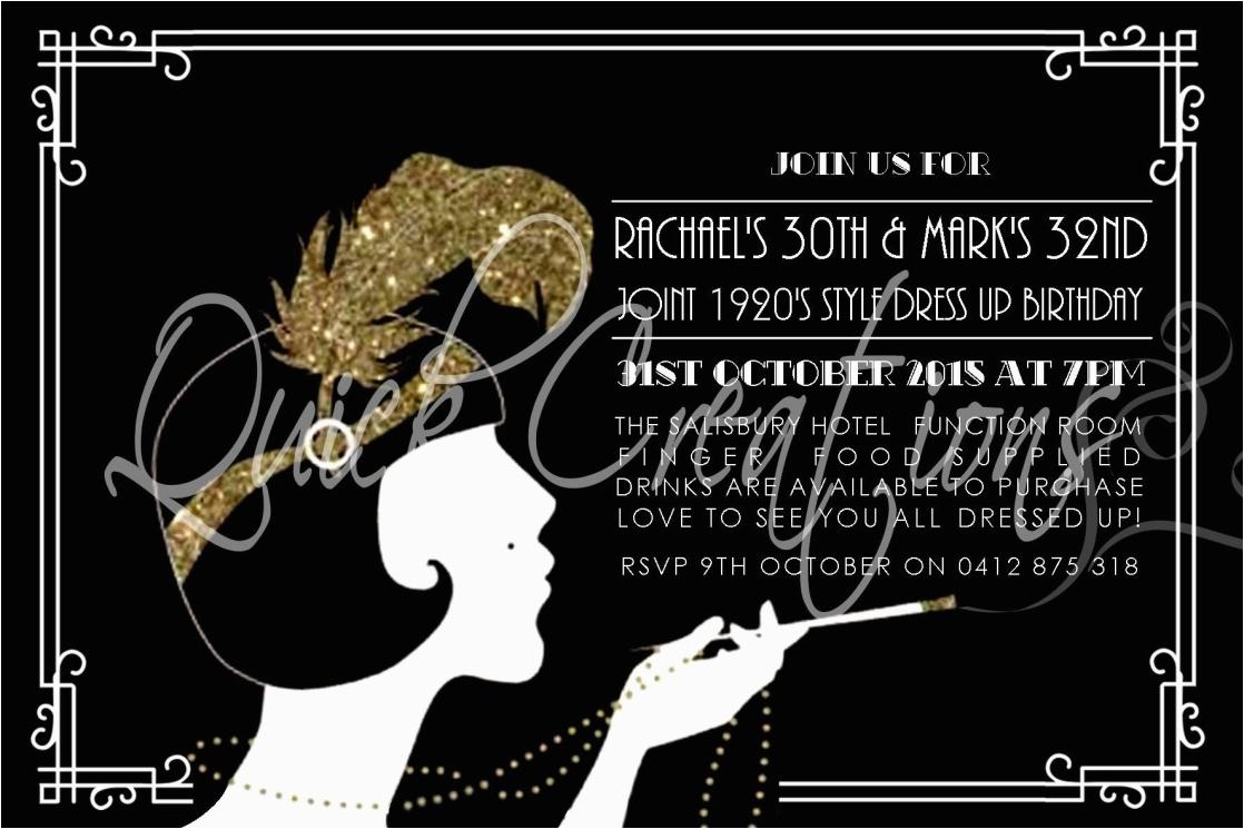tips to create 40th birthday invitations ideas anouk