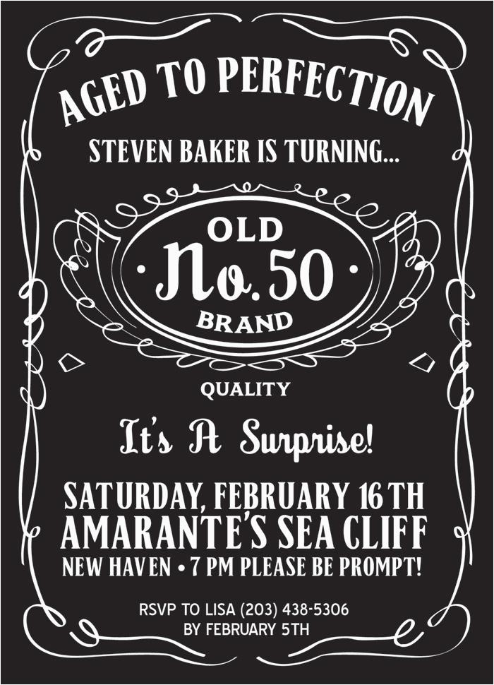 Cheap 50th Birthday Invitations Party For Men Dolanpedia