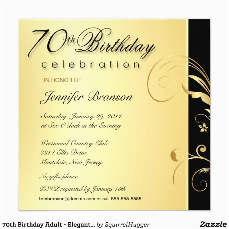 Cheap 70th Birthday Invitations Birthdaybuzz