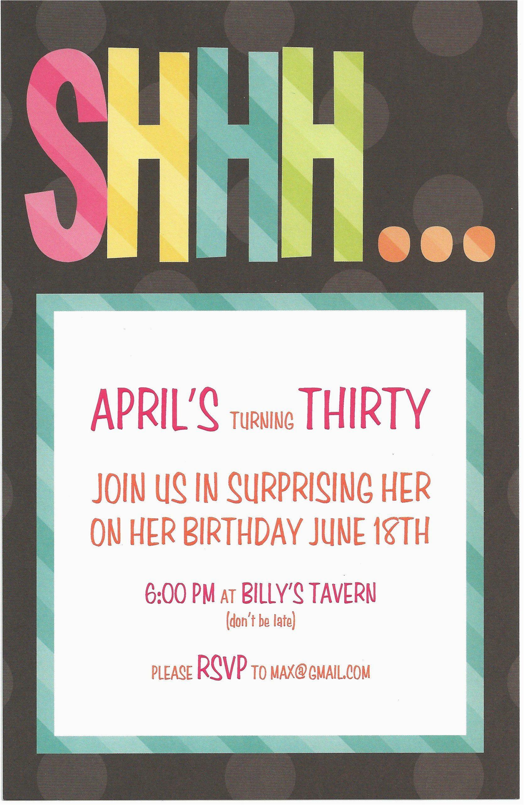 Cheap Birthday Invitations for Adults Birthday Invitation Card Surprise Birthday Invitations